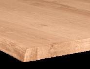 Eiche mit Baumkante aufgedickt 45 mm
